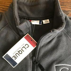 Men's fleece vest NWT